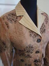 Etro Floral Elegant 2 Pocket 3 Button Closure Blazer Jacket Sz 40/6 US Rt $1970
