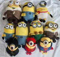 Various Minion / Despicable Me plush / soft toys - Multi Listing - Free P&P