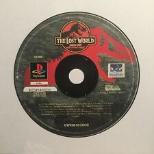 Ps1 the Lost World JURASSIC PARK SOLO CD SONY PLAYSTATION 1 #cd#1#00033