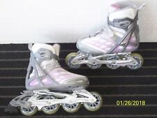 Rollerblade Wing 50 TFS Womens Adult Fitness Inline Skate TPS Laces SG7 Size 5.5