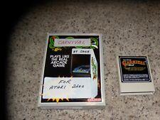 Carnival Atari 2600 with box
