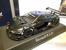 RENAULT R.S.01 RS 01 matt black schwarz Presentation #01 2015 Norev 1:43
