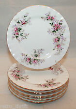 Set of 8 Royal Albert Bone China Lavender Rose Bread and Butter 6.25 Inch Plates
