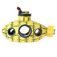 Aquarium Submarine Simulation Wreck Ornament Fish Tank Decoration E0Xc