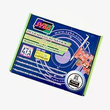 Syba Controller Card SIL3132 SATA 2 RAID Express 3gbs PCI-E x1 PCIE IOC-7700