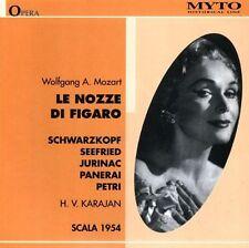 Mozart / Schwarzkopf / Seefried / Petri / Karajan - Le Nozze Di Figaro [New CD]