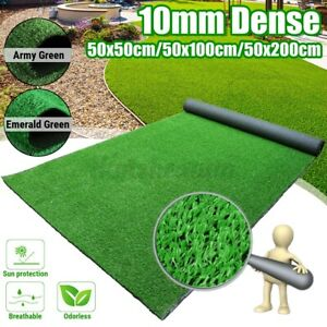 Artificial Turf Grass Synthetic Realistic Indoor Outdoor Mat Landscape Garden