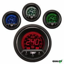 PROSPORT 52mm EVO Premium Digital 4 Colors Led Oil Temperature Gauge Fahrenheit