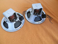 "2 Siemens Telefunken 8"" full range Vintage speaker field coil 20cm phenolic spid"
