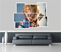 Huge Collage View Chucky Doll Wall Sticker Film Mural Wallpaper 1152