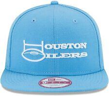 HOUSTON OILERS 2020 BAYCIK NFL NEW ERA 9 FIFTY WORDMARK SNAPBACK HAT BLUE