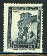SPANISH MOROCCO MH Selections: Scott #141 1P Blue Black $$