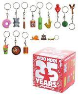 The Simpsons porte-clés 4 cm 25th Anniversary modèle aléatoire keychain 138097