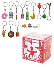 Kidrobot The Simpsons 25th Anniversary 1x Blindbox Keychain