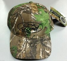 NEW OFFICIAL EMBROIDERED FORD MOTOR COMPANY REAL TREE CAMO STRUCTURED HAT/CAP!