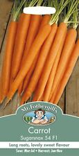 Mr Fothergills - Vegetable - Carrot - Sugarsnax 54 F1 - 500 Seeds