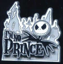 Jack Skellington I'm No Prince Disney Pin 41818