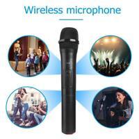 V-10 Funkmikrofon Smart Wireless Microphone VHF USB Empfänger Karaoke Mikrofon