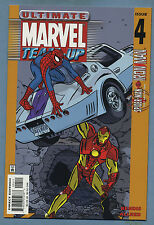 Ultimate Marvel Team Up #4 2001 Spider-Man Iron Man