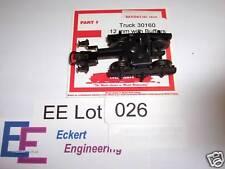 EE 30160 LN Marklin Truck for HO Passenger Car 12 mm Diameter wheels w Buffers