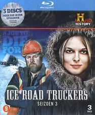 Ice Road Truckers : seizoen 3 (3 Blu-ray discs)