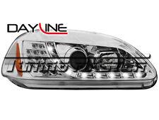 Honda Civic 96->98 Fari Dayline Cromati Freccia LED