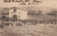 * ROMA - ACQUA TRAVERSA - Bersaglieri, Tattica Militare (in riposo) 1903 Tivoli