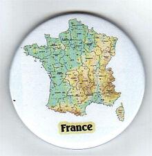 FRANCE CARTE - Aimant de réfrigérateur, porte clé ou Badge - Neuf