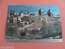 Tower of London & Bridge Foil Postcard First Day Issue 1978 QEII silver Jubilee