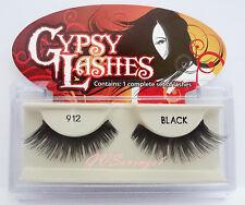 NIB~ GYPSY #912 FALSE EYELASHES Fake Lashes Black Falsies Strip