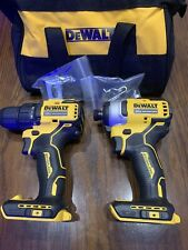 Dewalt ATOMIC 20V MAX Lithium-Ion Brushless  Drill And Impact. (tools Only)