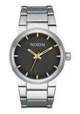 **BRAND NEW** NIXON WATCH THE CANNON STAMPED GOLD A1602730 NEW IN BOX!