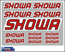 SHOWA Stickers/Decals - 13 High Quality Printed and Cut Stickers