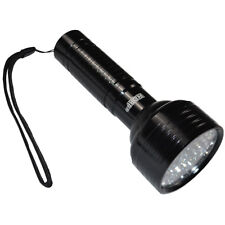 Powerful Aluminium 68 LEDs 395 nm UV Flashlight for Hunting, Gemstone Inspection