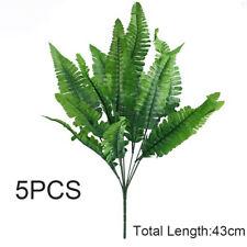 5Pcs Artificial Leaves Plants Lifelike Plastic Persian Grass Lysimachia Fern