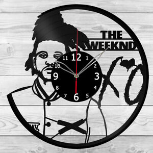 Vinyl Clock The Weeknd  Vinyl Record Wall Clock Home Art Decor Handmade 5916