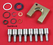 6.0L Powerstroke Performance Injector Nozzle Kit - 30% over / 70 + HP