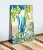 Hokusai Yoro Waterfalls CANVAS WALL ART CANVAS ARTWORK PRINT PICTURE Japanese