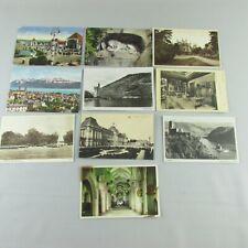 Lot of 10 Vintage Postcards Europe