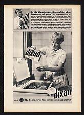 3w1104/ Alte Reklame - von 1960 - Waschmittel DIXAN - von Henkel