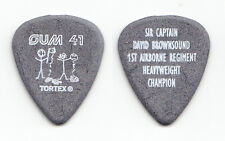 "Sum 41 Dave ""Brownsound"" Baksh Gray Guitar Pick - 2003 Tour"