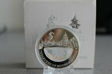 Treasures Mother Nature Pink Pearl Vietnam $ Fiji 2012 Silver Coin