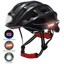 ROCKBROS Ultralight Cycling Helmet with light Road Bike MTB Light Helmet 49-59cm