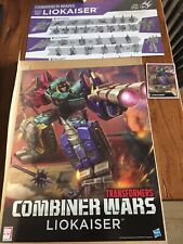 Combiner Wars Liokaiser Transformers Entertainment Earth Complete Generations