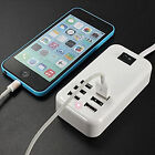 6 Port USB Desktop Multi-Function Fast Wall Charger Station AC Power Adapter