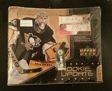 2003-04 Upper Deck ROOKIE UPDATE Hockey Hobby Factory Sealed Box