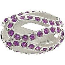 Authentic NEW Chamilia Glistening Meander Purple Bead 2083-0409 - RETIRED!