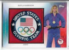 SWEET 2016 TOPPS OLYMPIC KAYLA HARRISON TEAM PATCH CARD ~ /99 USA JUDO ~ UFC MMA