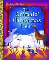 The Animals Christmas Eve (Little Golden Book) by Gale Wiersum