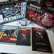 Warhammer Quest Cursed City Game Play MATERIALS ONLY, NO MODELS!
